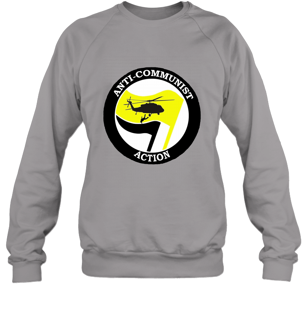 Anti Communist Action  Alt Right Anti Antifa T shirt Sweatshirt