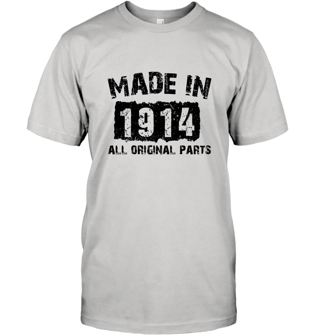 105th Birthday 105 Year Old 1914 T-Shirt