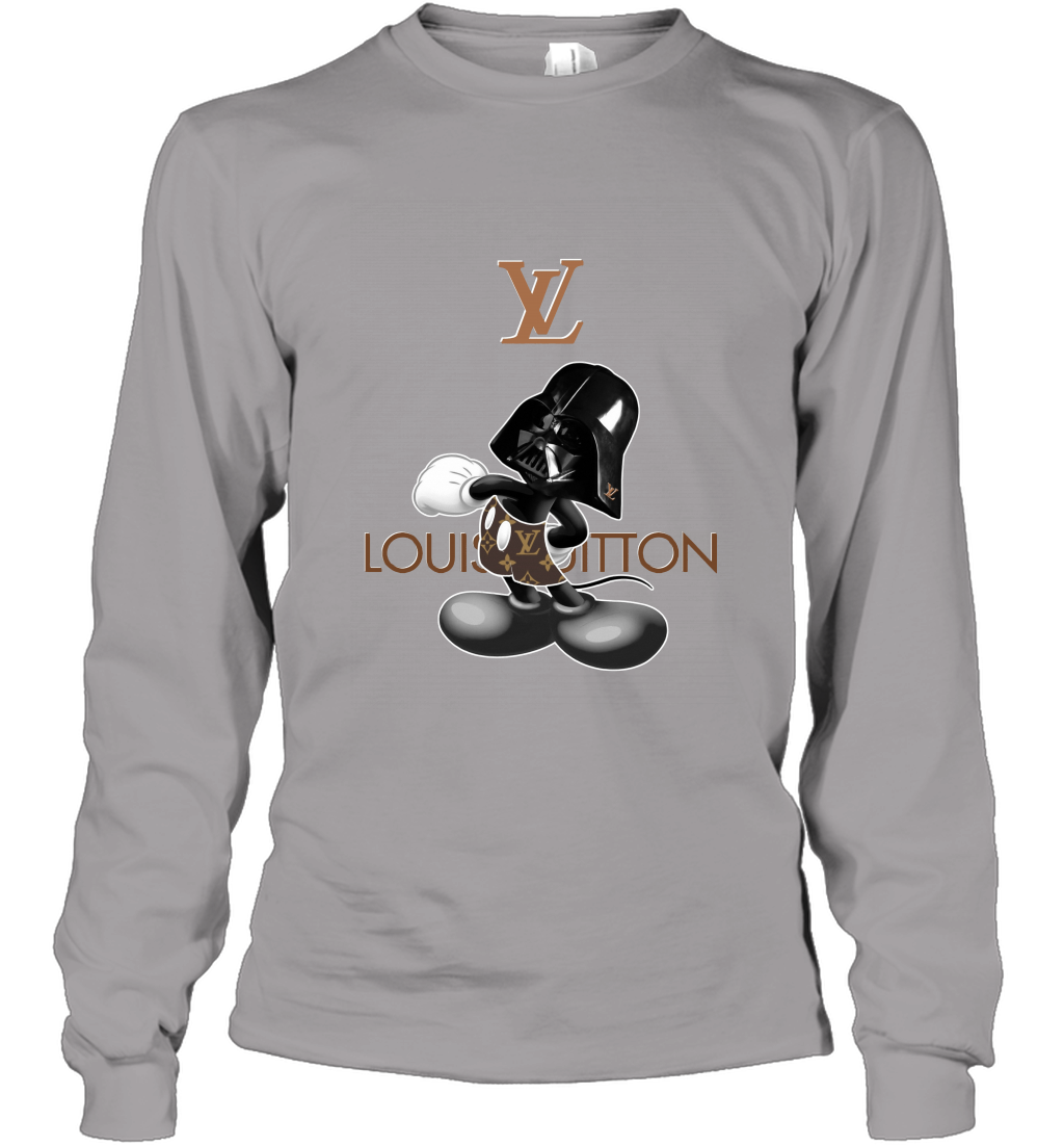 Louis Vuitton Darth Vader Mickey Mouse Shirts Long Sleeve