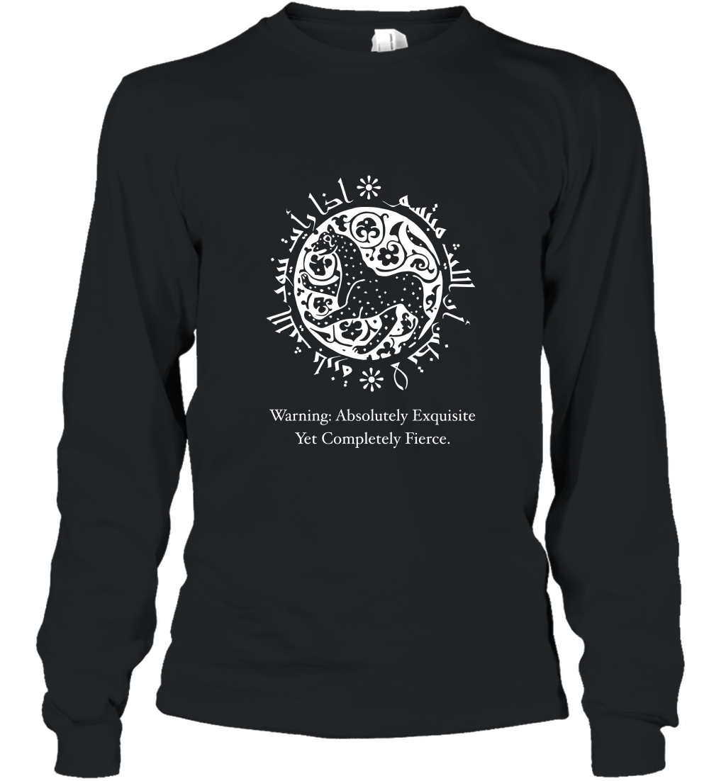 Exquisite Yet Fierce by The Arabesque Long Sleeve