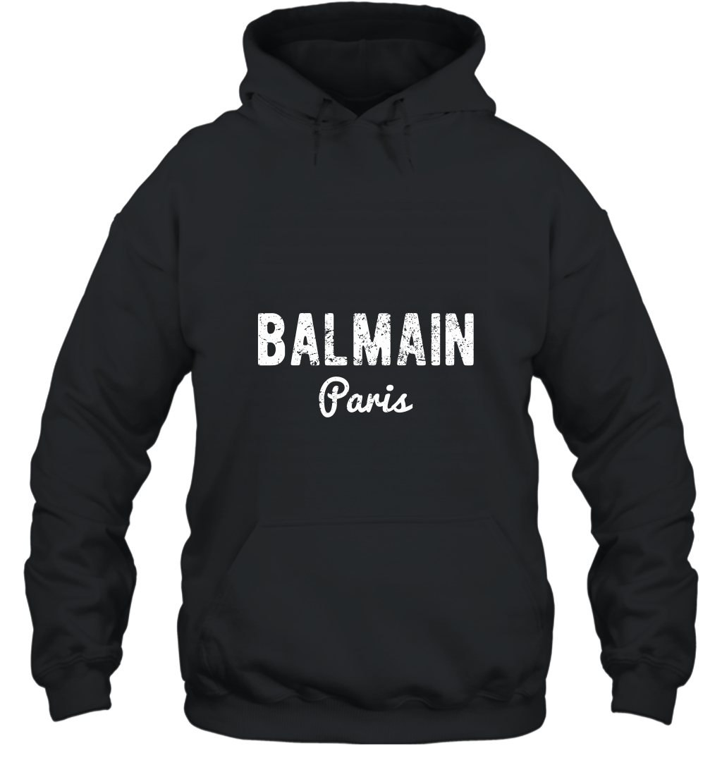 Balmain Paris T shirt  Long Sleeve Men Women alottee gift Hooded