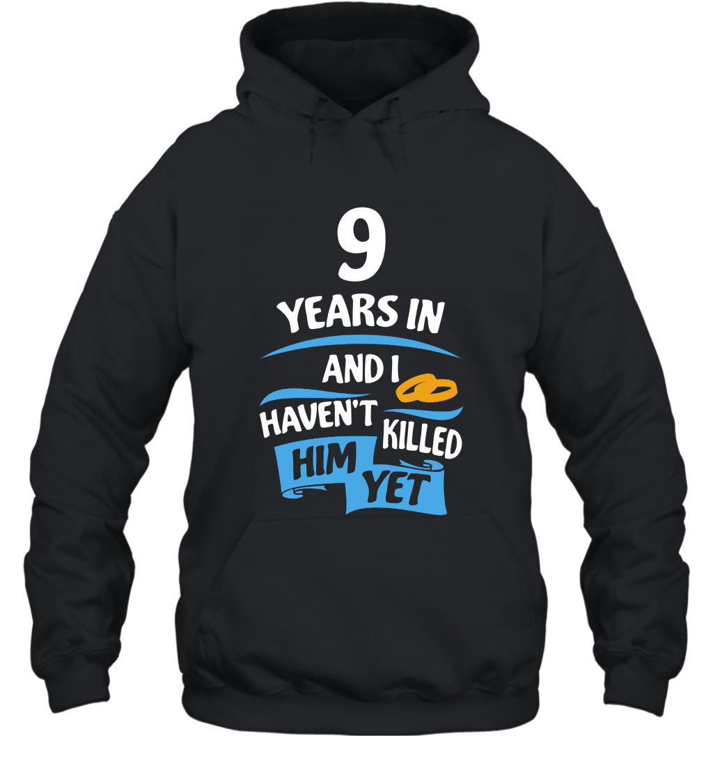 9 Years Anniversary Gift Idea for Her  9th Wedding prm Hooded