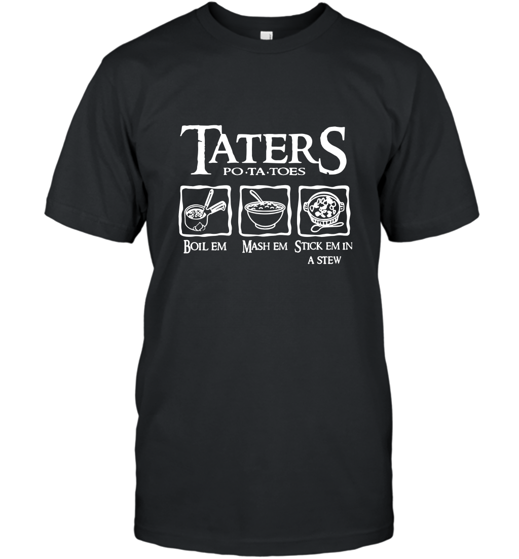Aters Po Ta Toes T Shirt T-Shirt