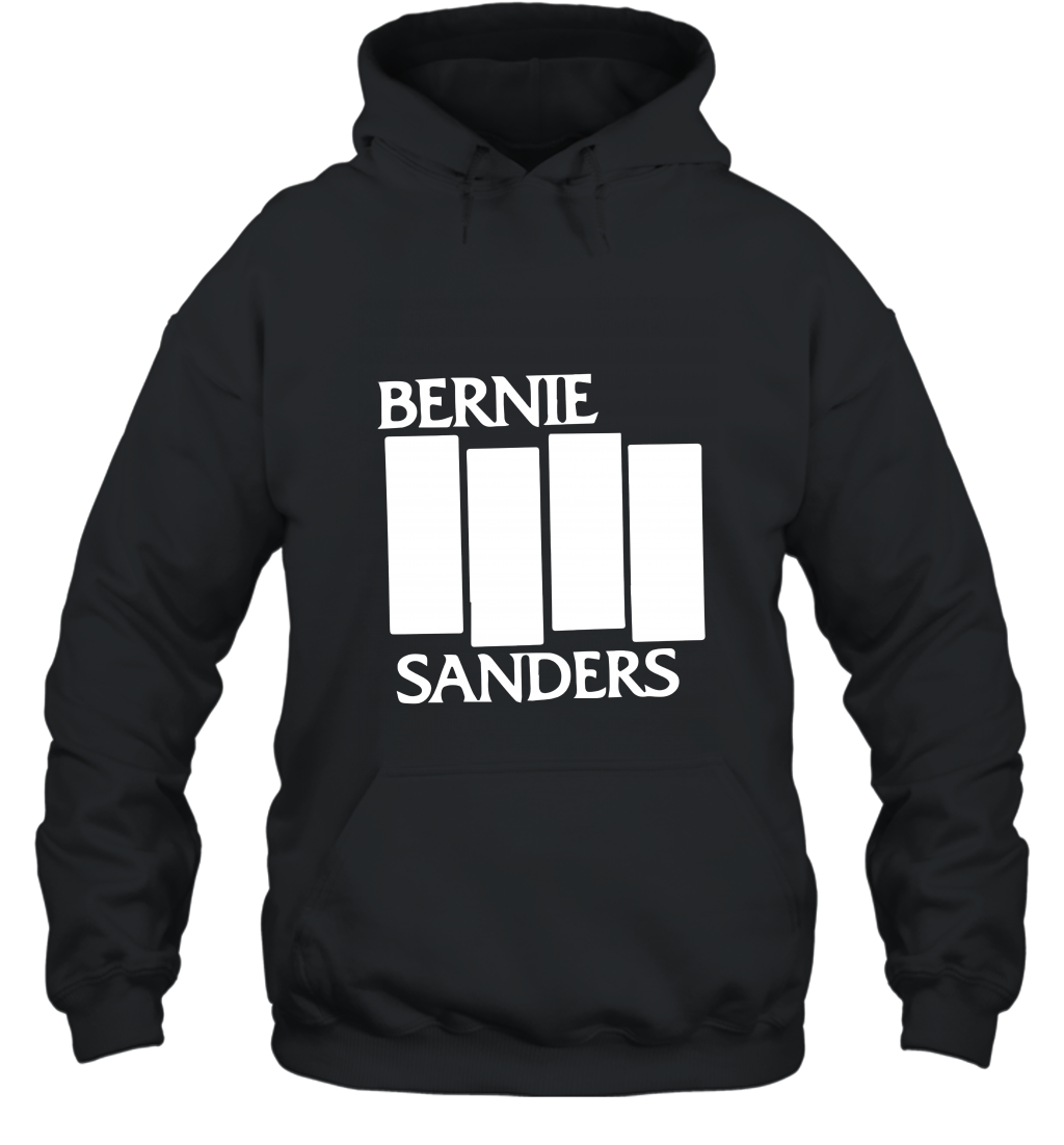 Bernie Sanders black flag cool T shirt 2016 Hooded