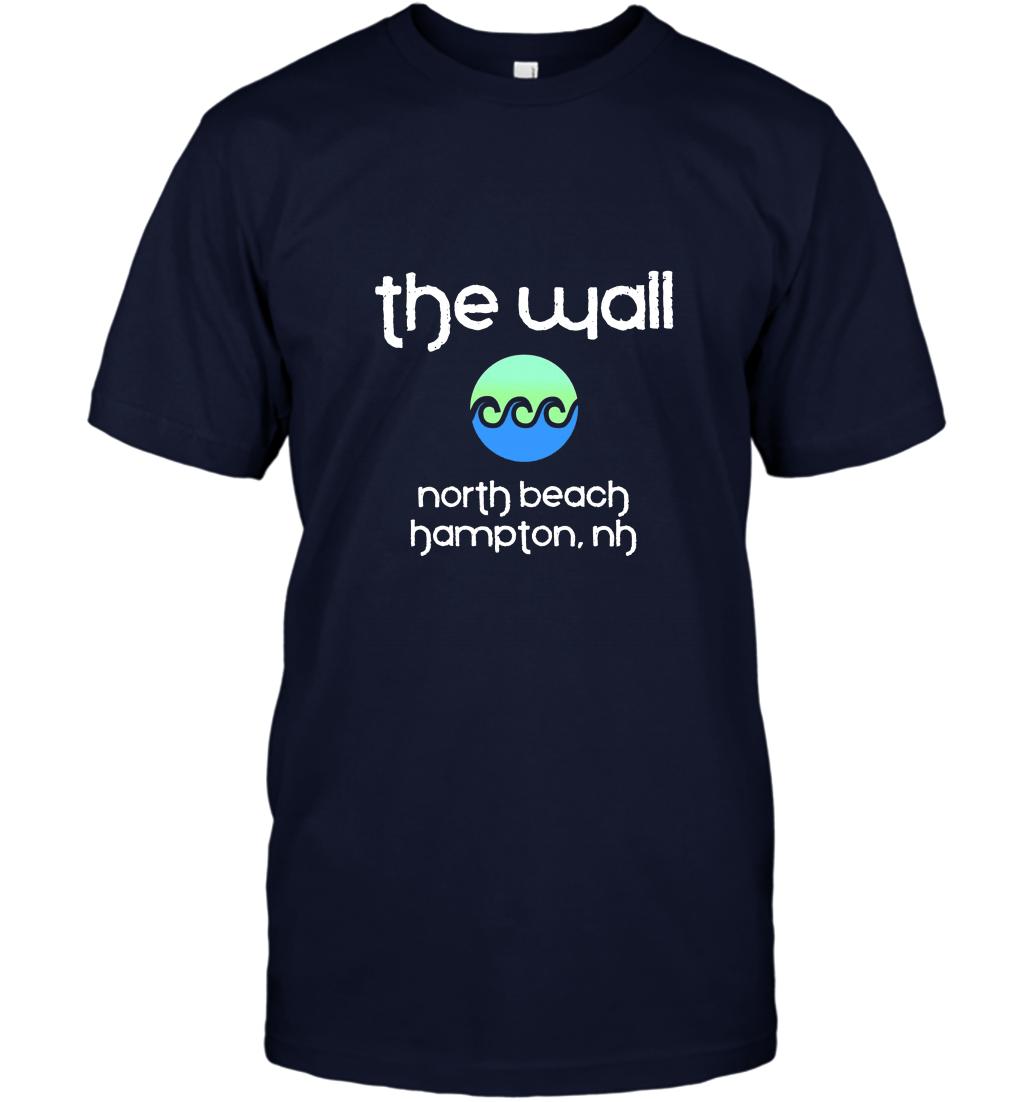 THE WALL NORTH BEACH Hampton New Hampshire Beach Surf TShirt T-Shirt