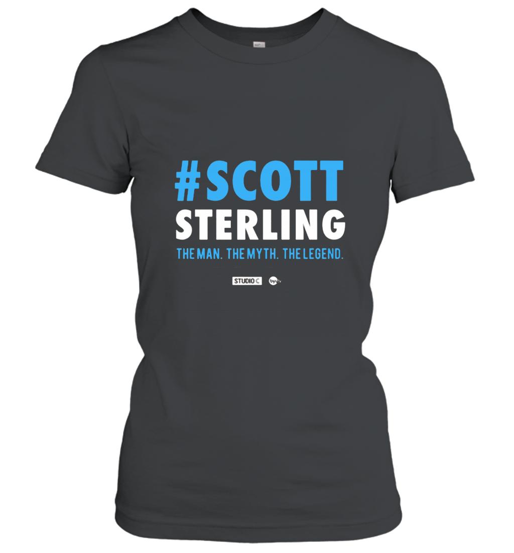 #Scott Sterling  The Man. The Myth. The Legend. T Shirt Women T-Shirt