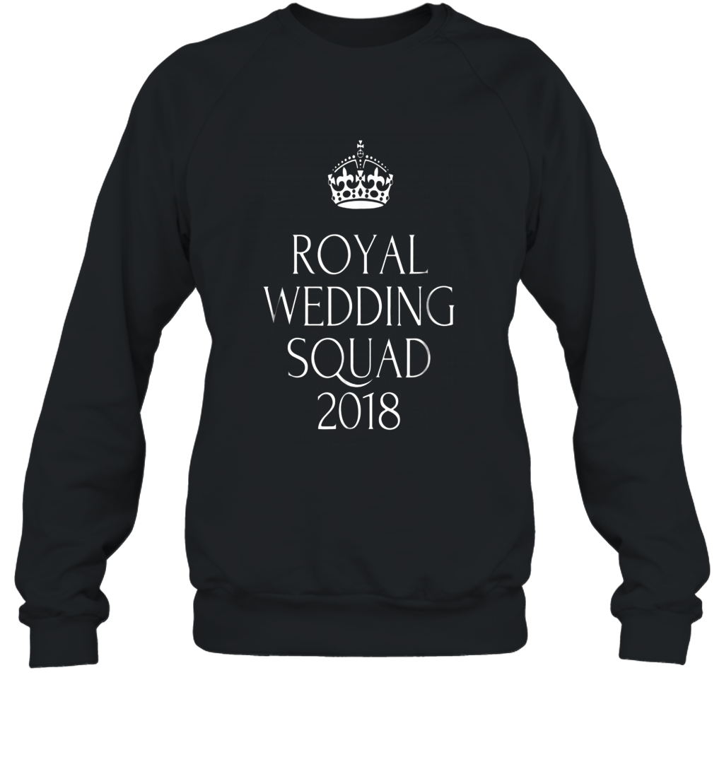 Royal Wedding Shirt Harry Meghan 2018 Wedding Party Squad alottee gift Sweatshirt