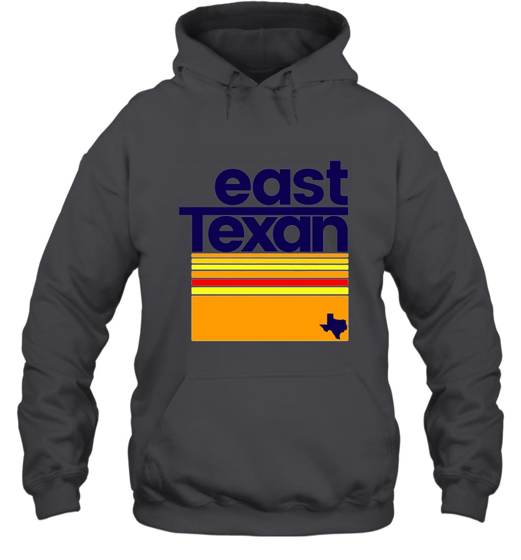 East Texan Regional Shirt Funny Texas Hooded