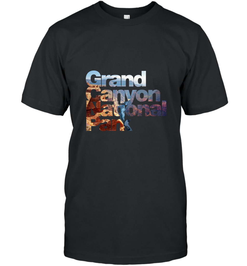 Grand Canyon National Park Arizona Hiking T shirt T-Shirt