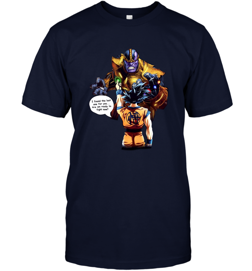 Goku vs Thanos Dragon Ball Infinity War shirt Men T-Shirt