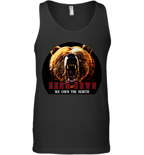 Bear Down We Own The North Tank Top