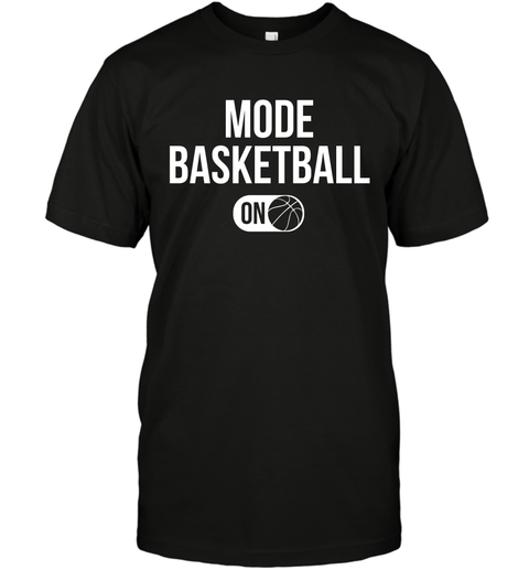 Mode Basketball On T-Shirt 1